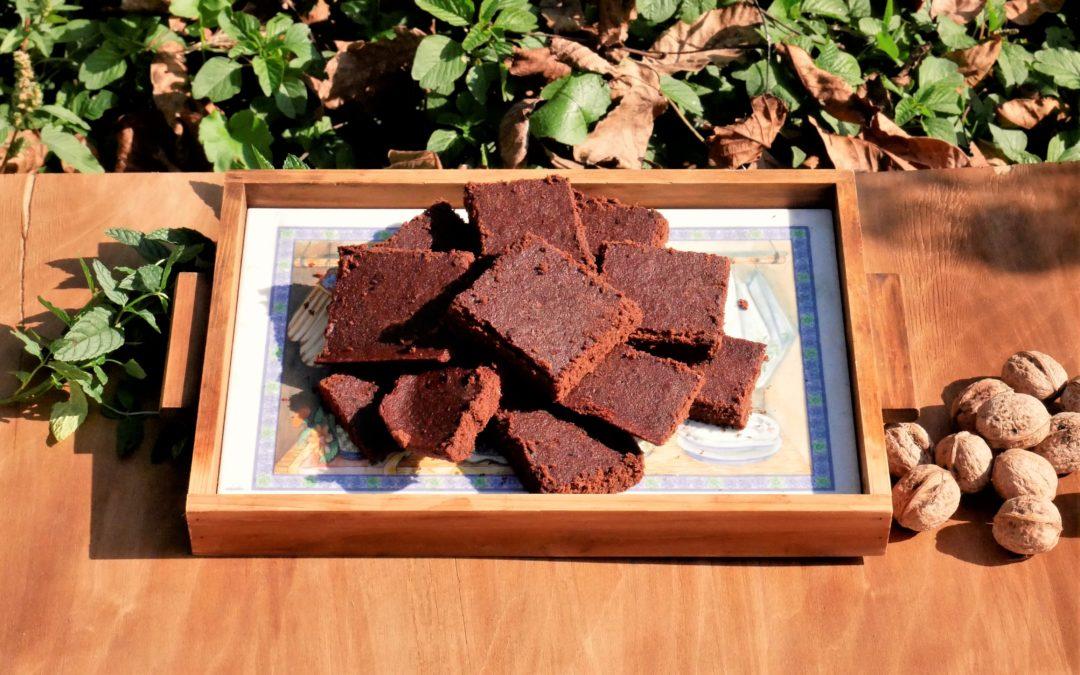 Brownies cioccolatosi al Miele